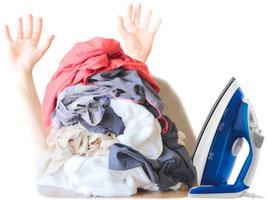 Servicio a domicilio de lavandería y de planchado en Alcantarilla